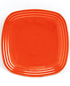 Fiesta Poppy Square Luncheon Plate