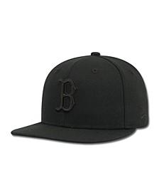 Kids' Boston Red Sox Black on Black Fashion 59FIFTY Cap