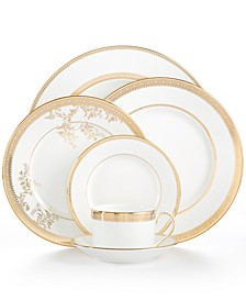 Dinnerware, Lace Gold Collection