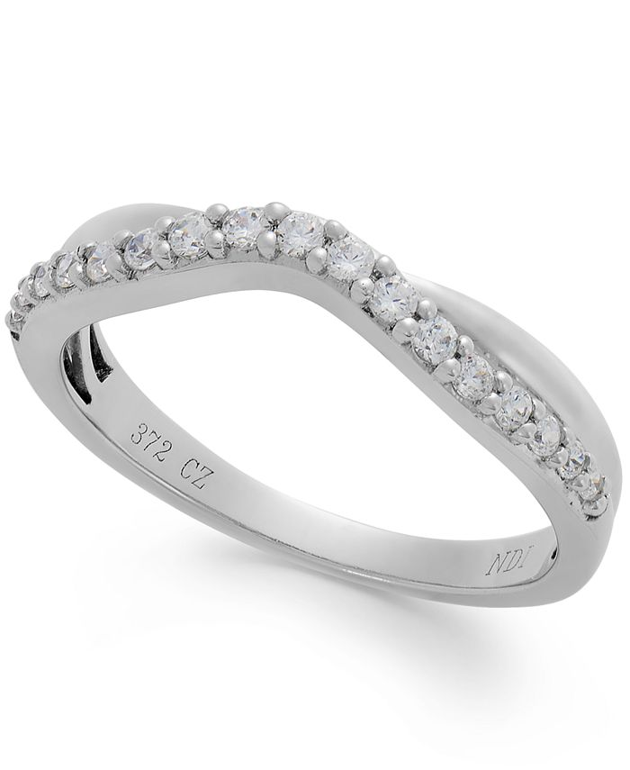 Macy's - Diamond Band in 14k White Gold (1/4 ct. t.w.)
