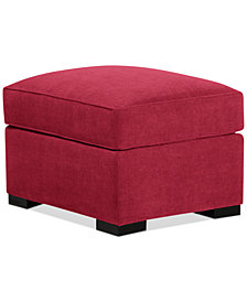Radley Fabric Ottoman - Custom Colors, Created for Macy's