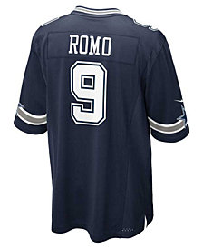 Nike Kids' Tony Romo Dallas Cowboys Game Jersey, Big Boys (8-20)