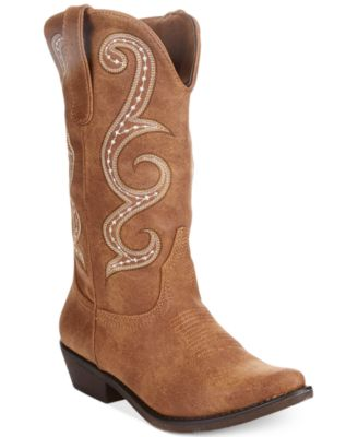 Image of American Rag Dawnn Western Boots, Only at Macy's