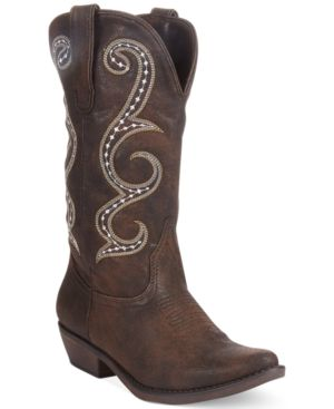 Image of American Rag Dawnn Western Boots, Created for Macy's Women's Shoes