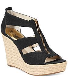 MICHAEL Michael Kors Damita Platform Wedge Sandals