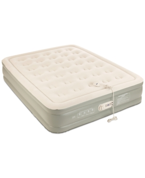 "Image of Aerobed Premier 2-Layer 16"" Queen Air Mattress with Built-In Pump"