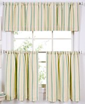 CLOSEOUT! Elrene Ticking Window Treatment Collection