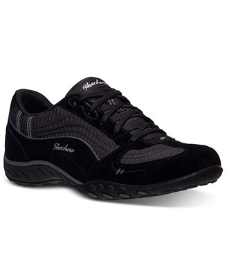 Skechers Women's Relaxed Fit Breathe Easy Just Relax Memory Foam Casual Sneakers from Finish Line
