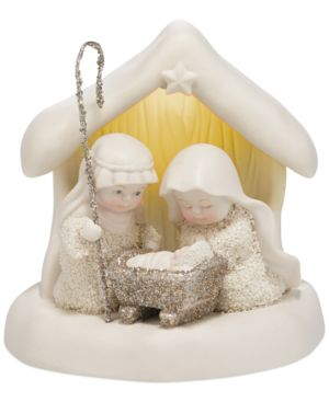 Department 56 Snowbabies Collectible Dream Beneath the Chimney Figurine