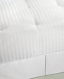 Blue Ridge 500 Thread Count Damask Stripe Down King Comforter