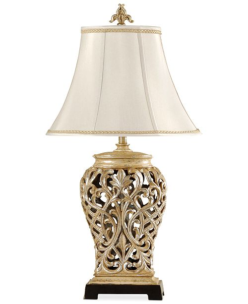 Macys Table Lamps Inspiration StyleCraft OpenLace Scroll Table Lamp Created For Macy's