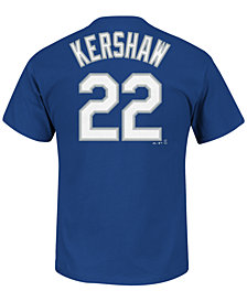 Majestic Men's Clayton Kershaw Los Angeles Dodgers Official Player T-Shirt