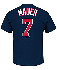 Majestic Men's Joe Mauer Minnesota Twins Official Player T-Shirt