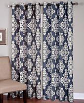 Elrene Medina Window Treatment Collection - Easy Care Linen Look!