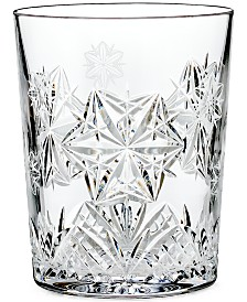 Waterford Snowflake Wishes for Peace Double Old Fashioned Glass