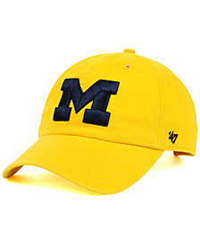 '47 Brand Michigan Wolverines NCAA Clean-Up Cap