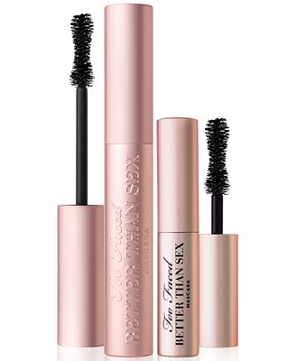 Too Faced Twice the Sex Better Than Sex Mascara Duo