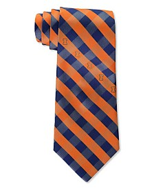 Eagles Wings Illinois Fighting Illini Checked Tie