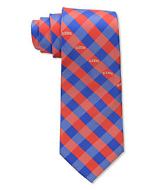 Eagles Wings Philadelphia 76ers Checked Tie