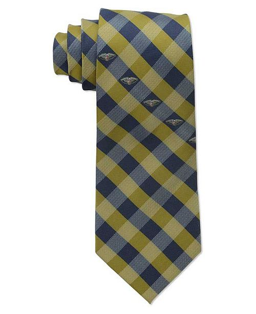 Eagles Wings New Orleans Pelicans Checked Tie