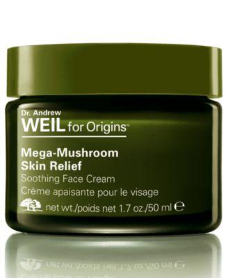 Dr. Andrew Weil for Origins Mega Mushroom Skin Relief Soothing Face Cream, 1.7 oz