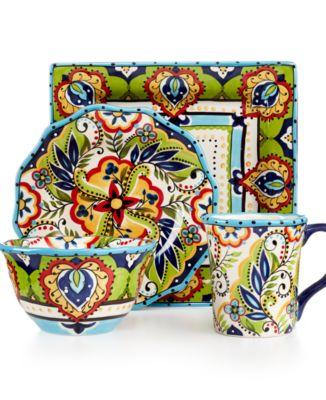 main image; main image ...  sc 1 st  Macyu0027s & Espana Bocca Dinnerware Collection - Dinnerware - Dining ...