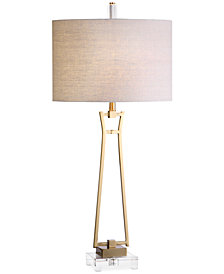Uttermost Leonidas Gold Table Lamp