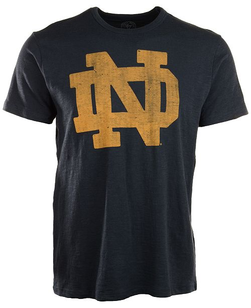 '47 Brand Men's Short-Sleeve Notre Dame Fighting Irish Scrum T-Shirt