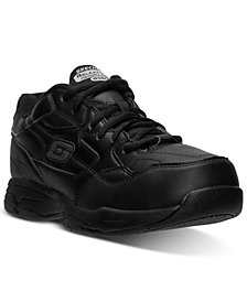 Skechers Men's Relaxed Fit: Felton - Altair Wide Width Work Sneakers from Finish Line