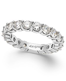 Sizeable Diamond Eternity Band in 14k White Gold (2 ct. t.w.)