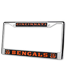Rico Industries Cincinnati Bengals Chrome License Plate Frame