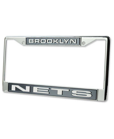 Rico Industries Brooklyn Nets License Plate Frame