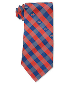 Eagles Wings Buffalo Bills Checked Tie