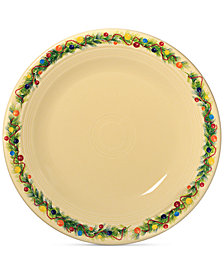 "Fiesta Christmas Tree 10.5"" Dinner Plate"