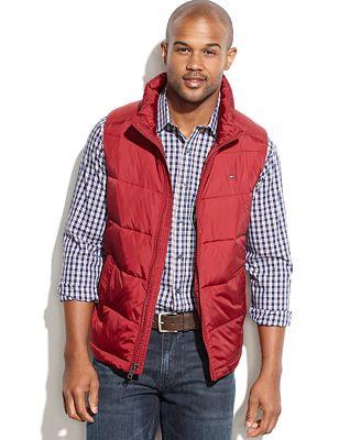 Tommy Hilfiger Puffer Vest - Coats & Jackets - Men - Macy's