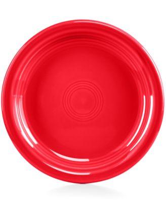 Scarlet Appetizer Plate