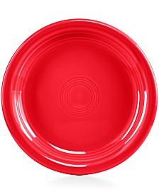 """Fiesta Scarlet 6.5"""" Appetizer Plate"""