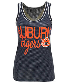 Step Ahead Women's Auburn Tigers Binocular Mesh Tank Top