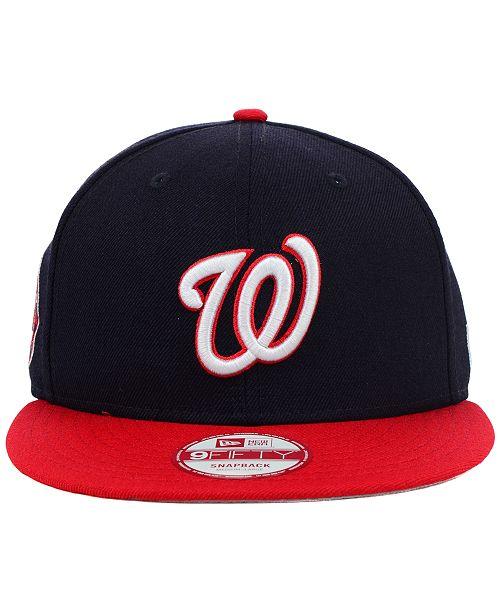 on sale 74fee 977bf ... New Era Washington Nationals MLB 2 Tone Link 9FIFTY Snapback Cap ...