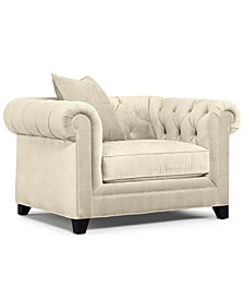 "Saybridge 52"" Fabric Armchair, Created for Macy's"