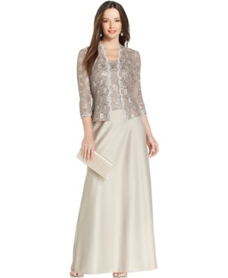 Alex Evening Dresses with Jackets