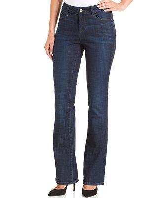 Lee Platinum Curvy-Fit Bootcut Jeans - Jeans - Women - Macy's