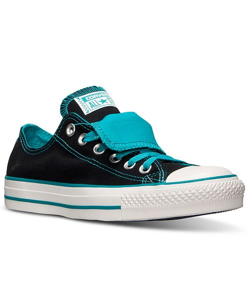 e378194c5474 ... Converse Women s Chuck Taylor All Star Double Tongue Casual Sneakers  from Finish ...