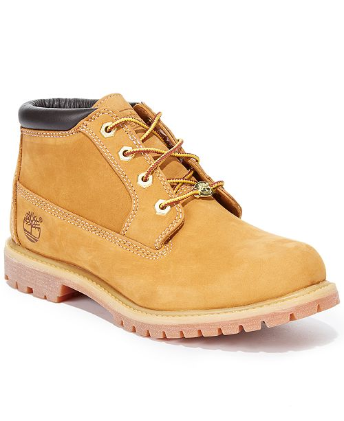 Timberland Women s Nellie Lace Up Utility Waterproof Boots - Boots ... 9cecab61b9