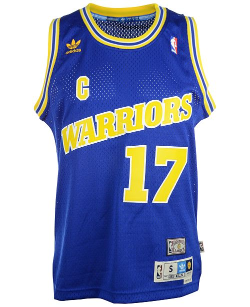 42529f60d93 adidas Chris Mullin Golden State Warriors Swingman Jersey & Reviews ...