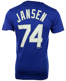 Majestic Men's Short-Sleeve Kanley Jansen Los Angeles Dodgers Player T-Shirt