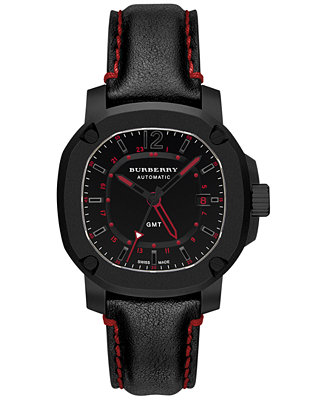Burberry Men's Swiss Automatic GMT The Britain