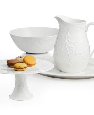 Dinnerware, Opal Innocence Carved Creamer