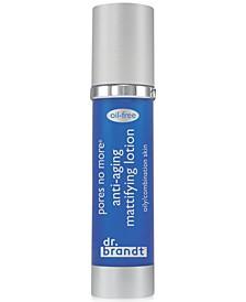 pores no more anti-aging mattifying lotion, 1.7 oz