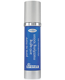 dr. brandt pores no more anti-aging mattifying lotion, 1.7 oz